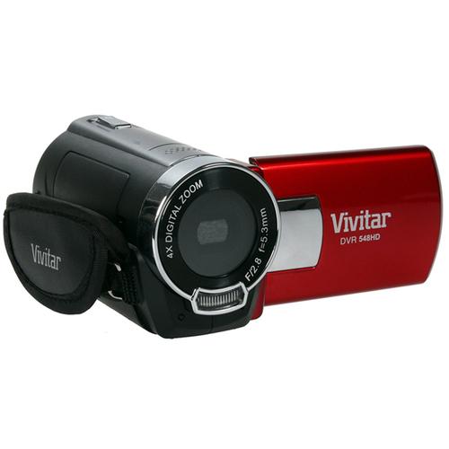 Digital Video Camera & Accessories Kit (DVR548-RED/KIT-AMX)