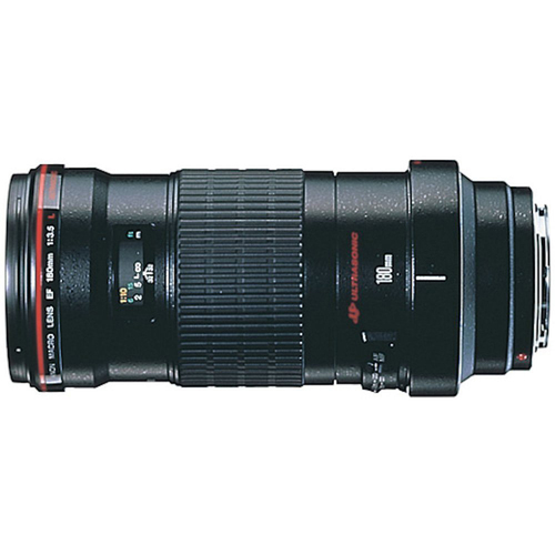 Canon 180mm f/3.5L Macro USM Lens with Canon USA Warranty
