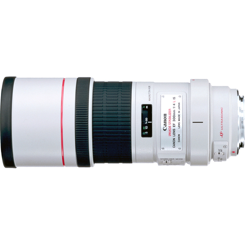 Canon EF 300mm F/4.0 L IS Lens, With Canon 1-Year USA Warranty