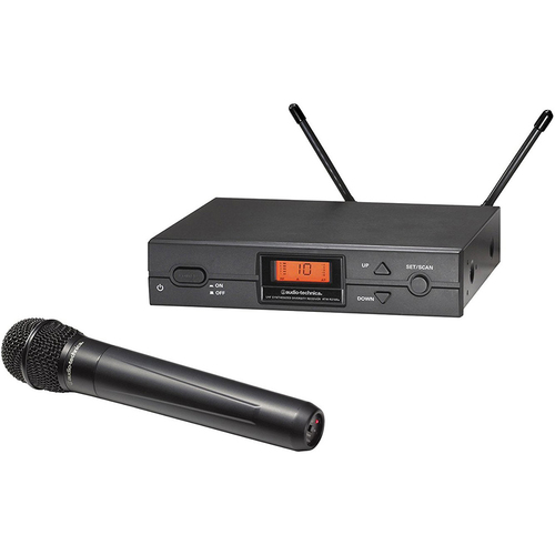 Audio-Technica ATW-2120BD 2000 Series Wireless Handheld Microphone System