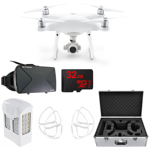 DJI Phantom 4 Advanced Quadcopter Drone w/ VR Headset 32GB Bundle (CP.PT.000689)
