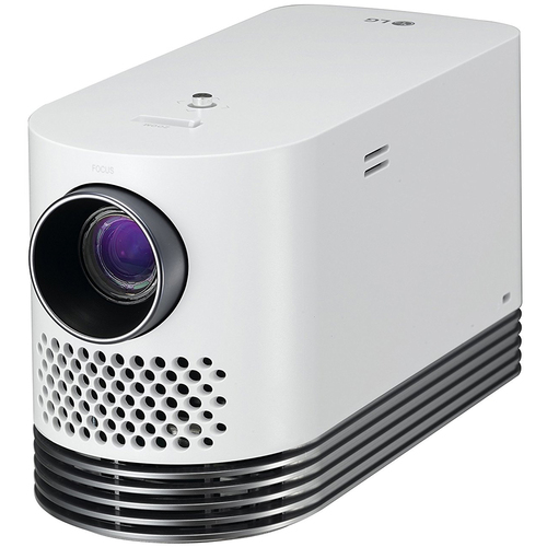 LG Laser Smart Home Theater Projector - White HF80JA - (OPEN BOX)