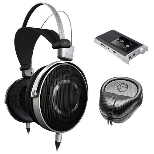 Pioneer Aluminum Diaphragm Hi-Res Stereo Headphones w/ Teac Amplifier Bundle