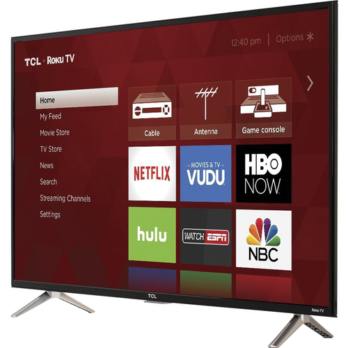 TCL 40` Class S-Series FHD LED Roku Smart TV - 40S305