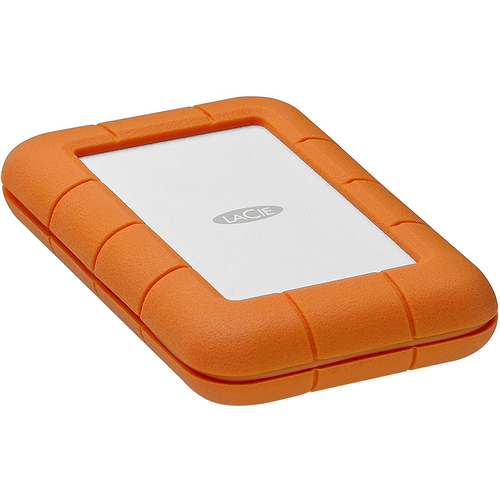 LaCie STFS2000800 Rugged Thunderbolt USB-C 2TB Portable Hard Drive