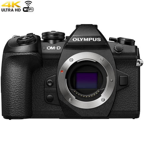 Olympus OM-D E-M1 Mark II 20.4MP Live Mirrorless Digital Camera Black (Body) Refurbished