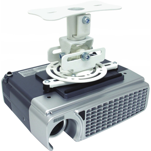 Atdec Flush to Ceiling Projector Mount for Displays up to 33-Pound - TH-WH-PJ-FM