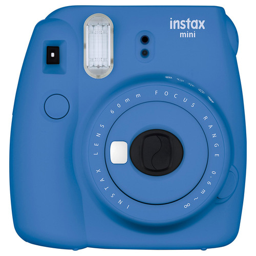 Instax Mini 9 Instant Camera - Cobalt Blue