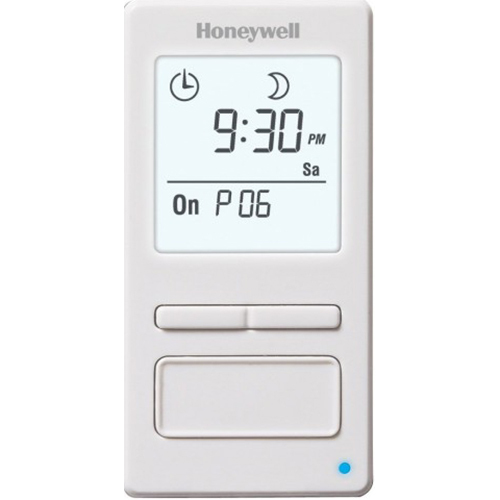 Honeywell 7-Day Solar Programmable Timer for Lights & Motors