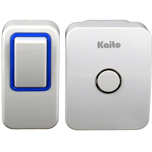 Kaito Wireless Doorbell No Battery Needed Door Chime with 25 Ring Tones - AG101N