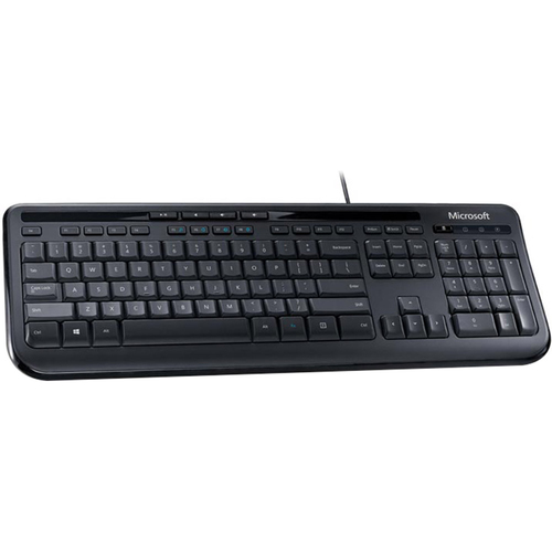 Microsoft Wired Keyboard 600 in Black - ANB-00001