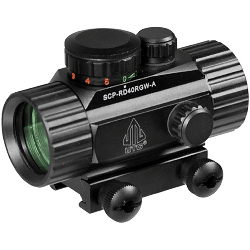 "3.8"" ITA Red/Green CQB Dot Sight with Integral Mount - SCP-RD40RGW-A"