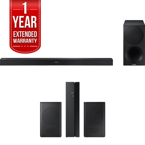 Samsung 320W 2.1Ch Soundbar w/ Wireless Subwoofer +Wireless Rear Speakers Bundle