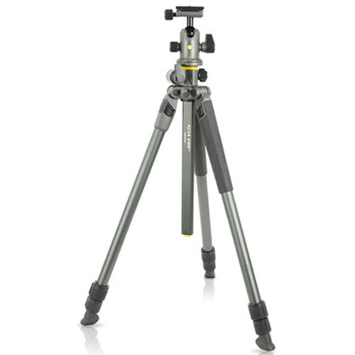 Vanguard Aluminum Alloy Tripod Kit with Alta BH-100 Ball Head (Gray) Alta Pro 2+ 263AB100