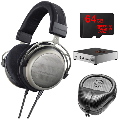BeyerDynamic T1 Second Generation Audiophile Stereo Headphone w/ A2 Amp Bundle