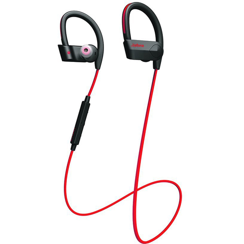 Jabra Sport Pace Wireless Bluetooth Earbuds Red - 100-97700001-02