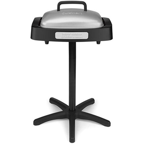 Cuisinart Indoor/Outdoor Grill with Reversible Nonstick Grill & Griddle Cooking Plate