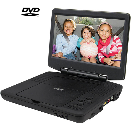 RCA Portable DVD Player 9` Swivel Display,Black (DRC98090) - (Certified Refurbished)