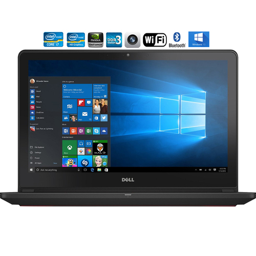 Dell i7559-2512BLK Inspiron FHD Intel i7-6700HQ 15.6` Laptop - Refurbished