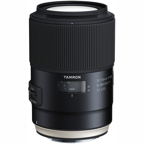 SP 90mm f/2.8 Di VC USD 1:1 Macro Lens for Canon (F017) Refurbished
