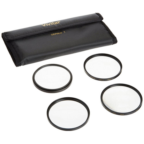 72mm 4pc HD Macro Close-UP Lens Filter Set +1 +2 +4 +10
