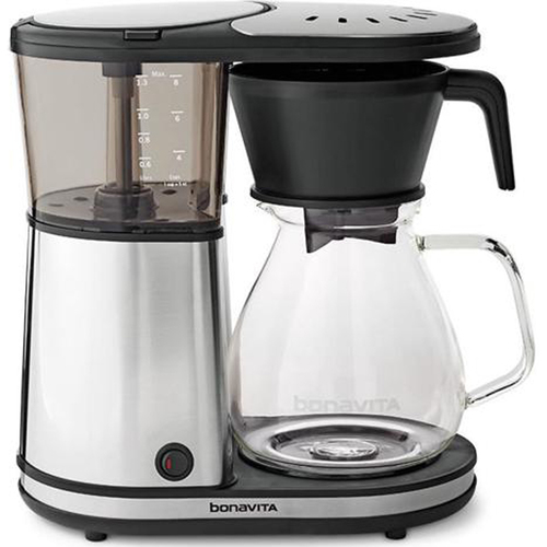 Bonavita Glass BV1901GW 8-Cup Coffee Brewer w/ Hot Plate - Glass Carafe