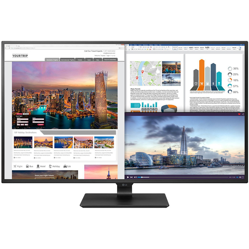 LG 43` 4K UHD IPS LED Monitor 3840 x 2160 16:9 (Open Box with 1- yr warranty)