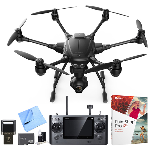 Yuneec Typhoon H RTF Hexacopter Drone with CGO3+ 4K Camera Pro Video Recorder Bundle