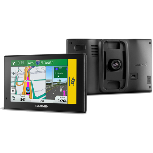 Garmin 50LMT DriveAssist GPS Navigator w/ Built-In Dash Cam Maps & Traffic 010-01541-01