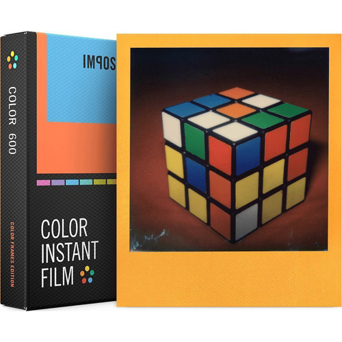 Impossible PRD4524 Polaroid 600 and Instant Lab Film, Eight Instant Color with Color Frames