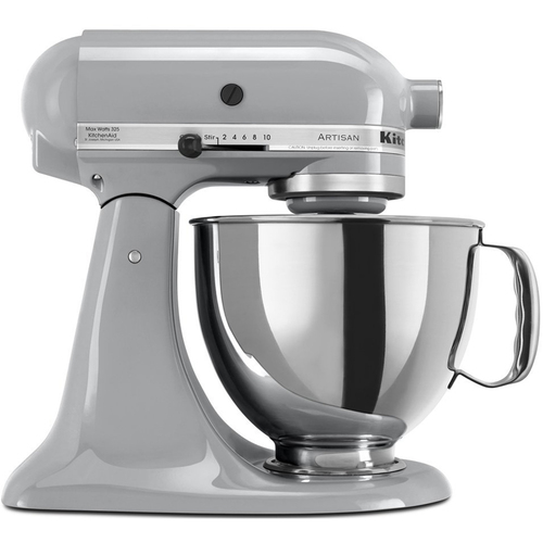 KitchenAid KSM150PSMC - Artisan Series 5-Quart Mixer, Metallic Chrome