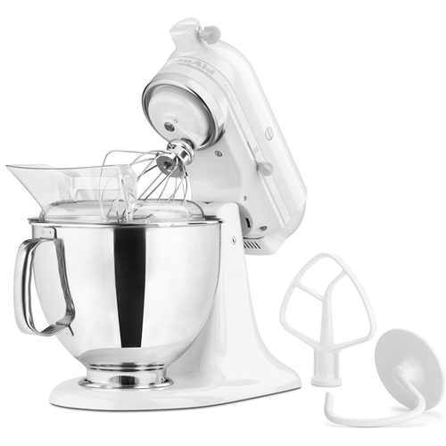 KitchenAid Artisan Series 5-Quart Tilt-Head Stand Mixer in White - KSM150PSWW