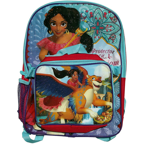 GDC Disney Princess Elena of Avalor 16 in Backpack with Lunchbox
