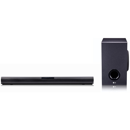 LG 2.1ch 160W Soundbar w/ Subwoofer and Bluetooth Connectivity - SJ2