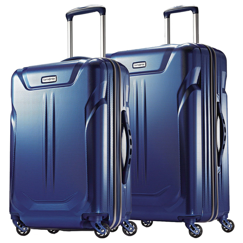 Samsonite Liftwo Hardside 2-Piece Spinner Luggage 25` and 21` - Blue