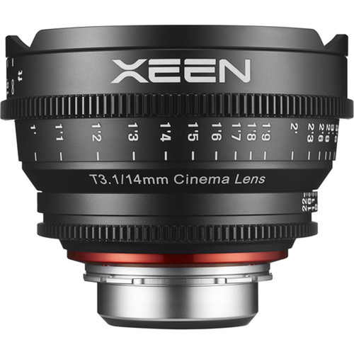Rokinon XEEN 14mm T3.1 Professional Cine Lens for PL Mount
