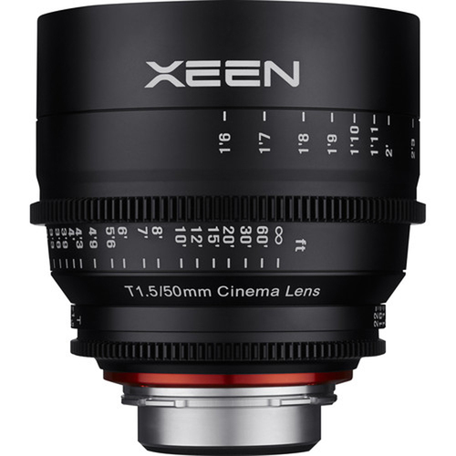 Rokinon Xeen XN50-C 50mm T1.5 Lens for Canon EF Mount