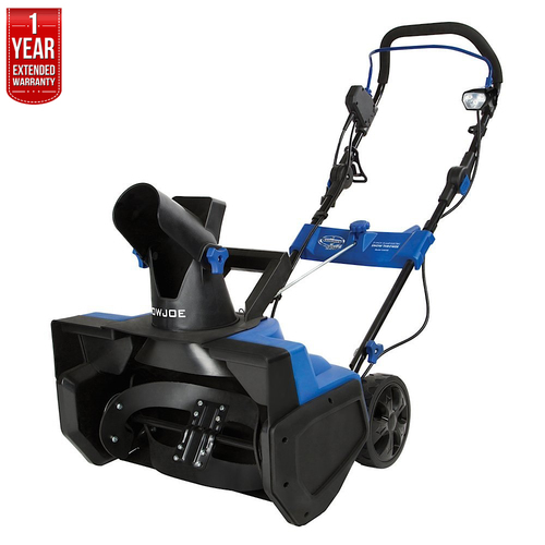 Snow Joe Ultra 21` 15-Amp Electric Snow Thrower + 1 Year Extended Warranty - Refurbished