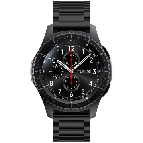 General Brand Metal Wrist Band for Samsung Gear S3 - Black
