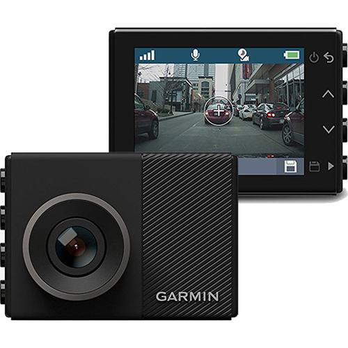 Garmin Dash Cam 45 Wide-Angle Lens & Car GPS Location Data Driving Recorder