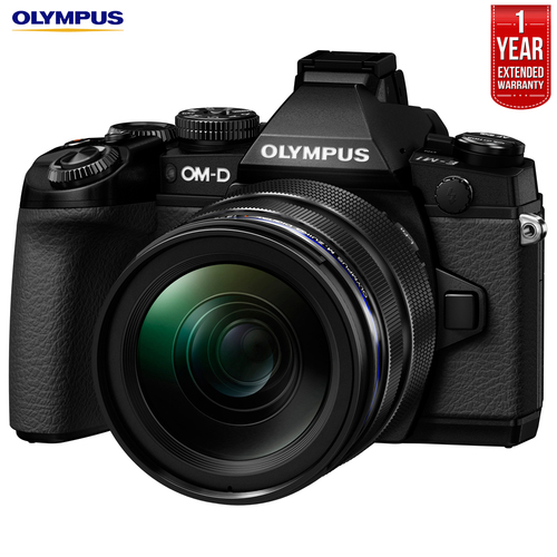 Olympus OM-D E-M1 Mirrorless Camera M.Zuiko +12-40mm Lens +Extended Warraty -Refurbished