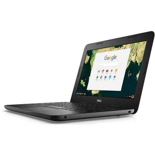 Dell Chromebook 11.6 Inches Traditional Laptop in Black - RH02N