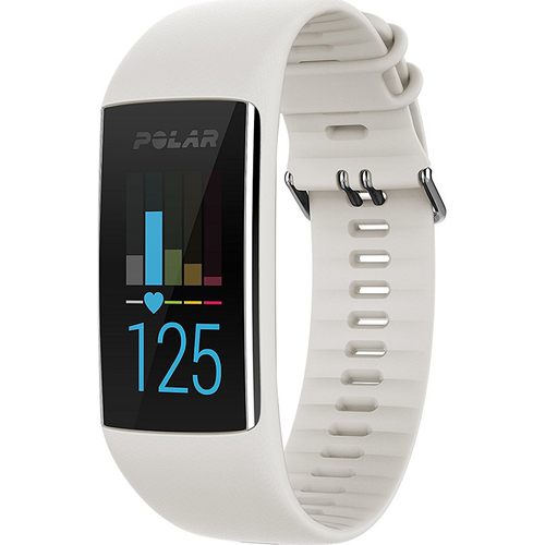 Polar A370 Fitness Tracker with 24/7 Wrist Based HR White M/L (90064906)