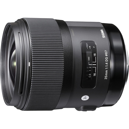 Sigma Art Wide-angle lens - 35 mm - F/1.4 DG DG HSM- for Sony