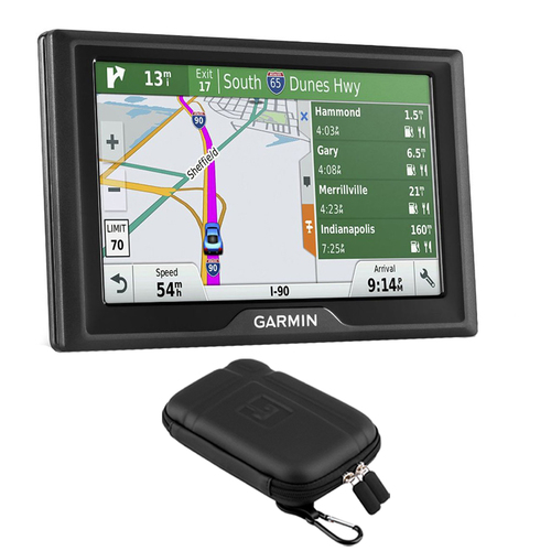 Garmin Drive 50LMT GPS Navigator (US Only) - 010-01532-0B with GPS Case Bundle