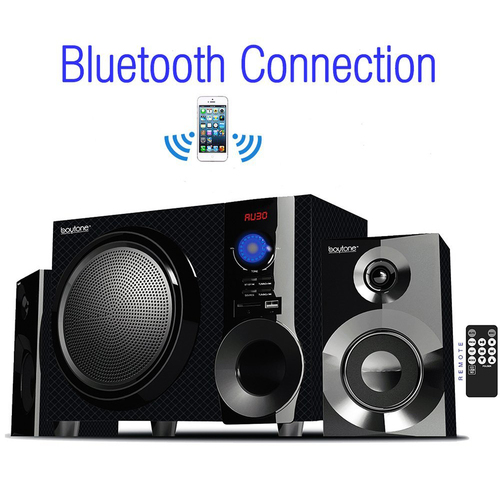 Boytone BT-210FD Wireless Bluetooth Stereo Audio Speaker with Powerful Sound