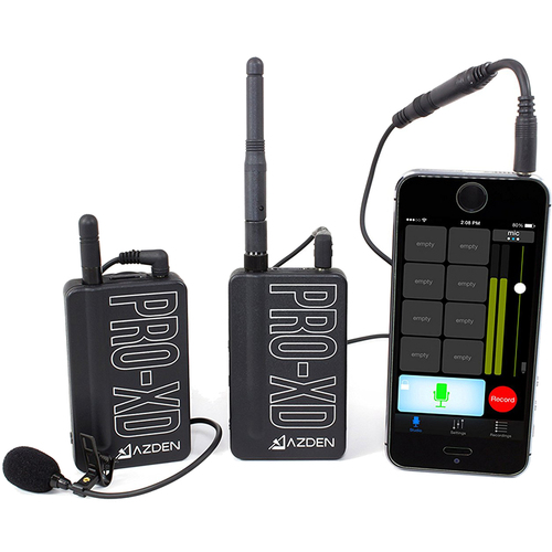 Azden i-Coustics PRO-XD Digital Wireless Microphone System
