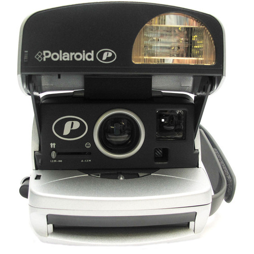 Impossible Polaroid 600 Round Camera - Silver - 4654