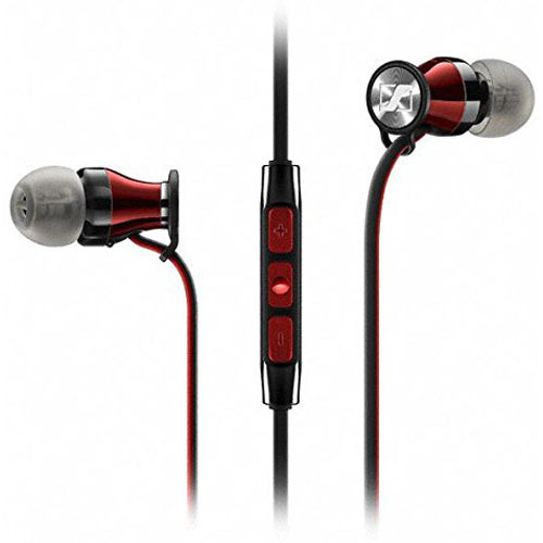 Sennheiser HD1 In-Ear Wireless Headphones for iOS Devices in Black/Red