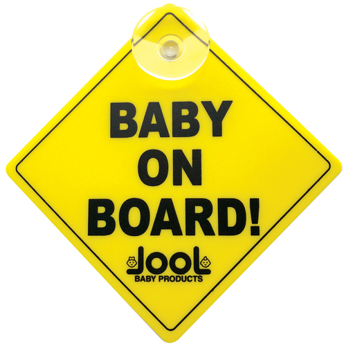 Jool Baby Products Baby on Board Car Sign - 2 Pack - BOB-102